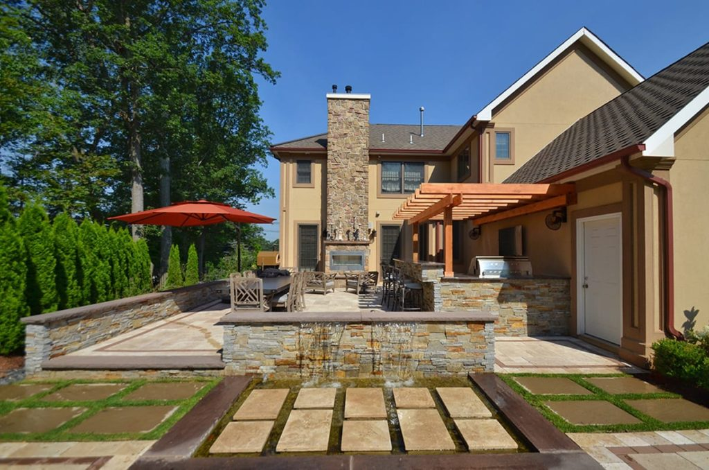 Residential outdoor living spaces-Brandon FL Landscape Designs & Outdoor Living Areas-We offer Landscape Design, Outdoor Patios & Pergolas, Outdoor Living Spaces, Stonescapes, Residential & Commercial Landscaping, Irrigation Installation & Repairs, Drainage Systems, Landscape Lighting, Outdoor Living Spaces, Tree Service, Lawn Service, and more.
